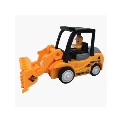 Construction Vehicle Toy Car, Mini Toy Excavator, Simulation Engineering Truck, Children's Toy Bulldozer