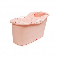 Thickened Home Full Body Bathtub, Extra Large Plastic Adult Bath Tub