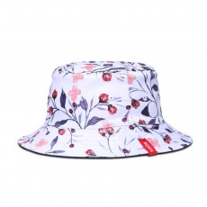 Women Bucket Hats Fisherman Hats Double Sided Printing Cotton Neutral Couple Summer Spring Caps