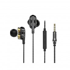 Apple Devices for Computer Games In-Ear Headphones with Mic, Noise Reduction Ear Plugs for Sleeping