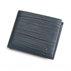 Men Wallet RFID Blocking Genuine Leather Wallets Slim Bifold Top Flip Money Clip Gifts for Men