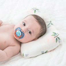 Cotton Baby Shape Pillow for Head, Flat Head Baby Pillows for Sleeping, Multiple Pattern Design Baby Pillow
