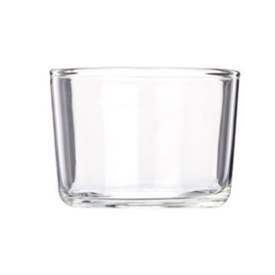 Minimalist Transparent High Boron Glass Cup, Delicate Dessert Pudding Mousse Milk Strong Heat-resistant Mug