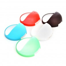 Plastic Suction Cup Soap Holder for Bathroom Toothbrush Box Dish Accessories, Punch Free Wall Mounted Soap Storage Case