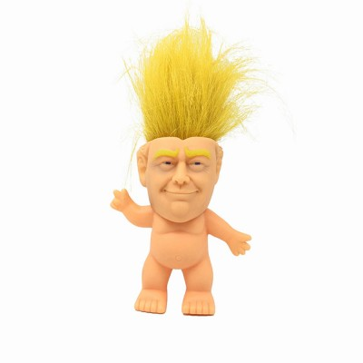 Delicate Smooth Enamel Simulated Troll Doll, Creative Cute Garage Kit Table Ornament Decoration