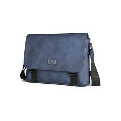Single Shoulder Bag PU Material Bag for Men Large Capacity Bag Waterproof Pack