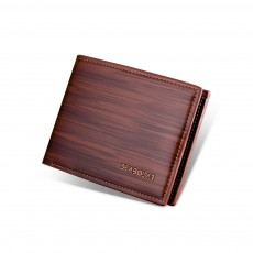 Men's Simple Short Wallet, Classic Square Multiple Cards Slots Business Wallet