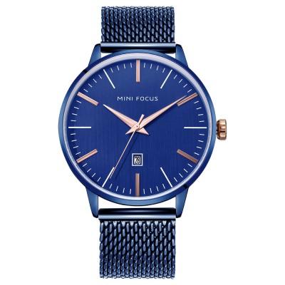 Steel Strap Quartz Watch for Men, Water-proof Round Alloy Dial Watch Wear-proof Classic Watch
