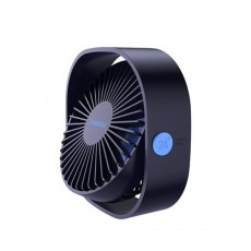 Mini Fan USB Chargeable for Hot Day Silence Outside Office Desk Portable 360° Rotation Fan
