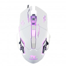 Four DPI Adjustment Mouse with LED for Game Play Computer Case High-performance Wired Mouse