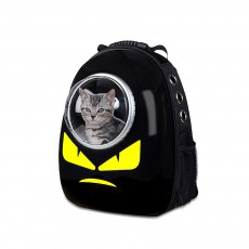 Pet Backpack Space Cover for Cat Dog Breathable Rucksack Acrylic PC Pack-sack Comfortable Bag