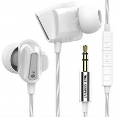 Wire Earphone Anti-pulling Wire Headset Comfortable Wearing HIFI Effect Earpiece Double Dynamic Earplug