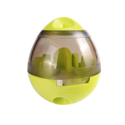 Pet Food Leakage Container for Cat and Dog, Interactive Dog Cat Food Treat Ball Bowl Slow Feed Pet Playing Toys