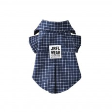 Fashionable Plaid Pet Clothing, Nontoxic and Fine Cotton Cloth for Pets, Dog and Cats Clothes Spring Summer
