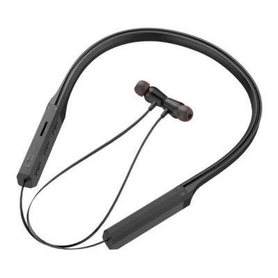 Sports Headphones with TF Card Slot, Hanging Neck Bluetooth Earphones, Wireless In-ear Headset