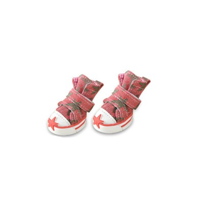 Pet Plimsolls with Star, Warm Pet Shoes for Dogs, Cats, Small Animals, 2019 Spring Winter Essential Pet Shoes