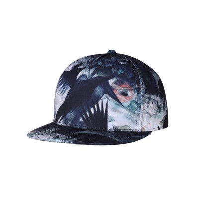 New Flat Hip Pop Style Men Cap Urban Fashionable Personalized Baseball Cap with Adjustable Strap