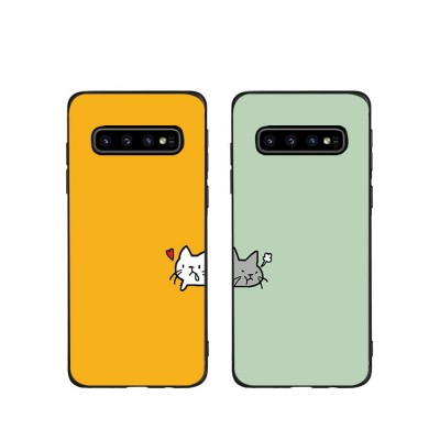 Soft Phone Case for Galaxy S9 Plus, Silicone S10 Plus Protective Phone Case S8 Plus Color Painted Phone Case