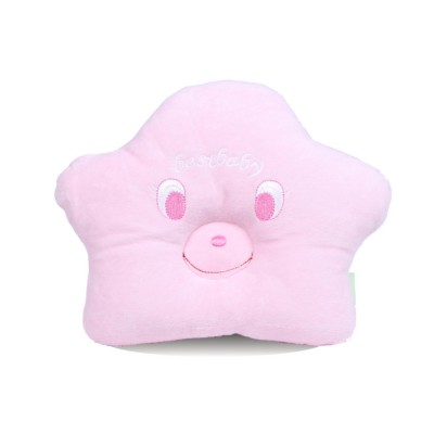 Pure Cotton Sea Star Shaped Pillow, Comfortable Baby Pillow Against Plagiocephaly for Infant Newborn Boys and Girls All Season