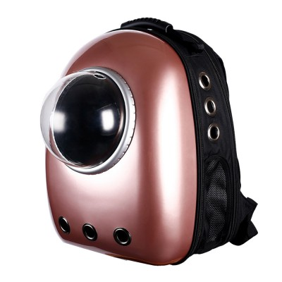 Fashionable Large Pet Backpack for Moderate and Small Size Dog and Cat, Portable Travel Pet Carrier Space Capsule Bubble Design