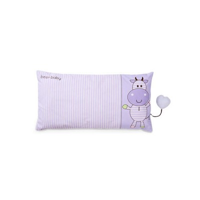 Cute Pattern New Born Baby Pillow Rectangle Plagiocephaly Prevention Breathable Soft Pillow