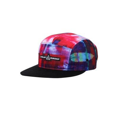 New Colorful Doodle Baseball Cap Women Men Street 3D Printing Hip Pop Cap