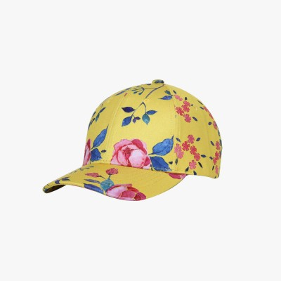 Summer Floral Printed Pattern Baseball Cap Fashionable Casual Outdoor Sun Cap with Hip Pop Style