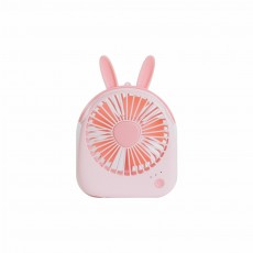 USB Lovely Mini Fan Portable Handheld Power Charged Mini Fans Plug In with Lights Girls Mini Fan