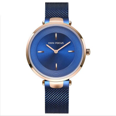 Stylish Women Wrist Watch Waterproof Lady Quartz Watch with Crystal Dial Birthday Gift