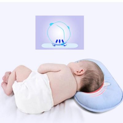 Baby Head Shaping Pillow 100% Cotton Newborn Pillow Flat Head