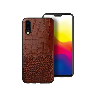 Classic Leather Phone Case for Vivo x21, Anti-fall Mobile Phone Case for X20 plus, Non-slip Full-pack Case for Vivo X23