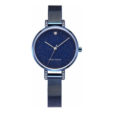 Women's Quartz Watch with Stainless Steel Mesh Band, Casual Fashion Wrist Watches Bracelet for Women Lady Girl With Gift Box