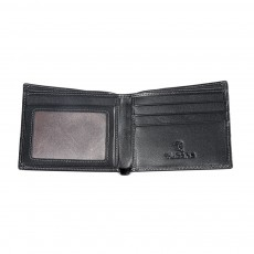 Multi-layer Quality Genuine Leather Slim Wallets Bifold Vintage Money Clip Gifts for Male Men Boy