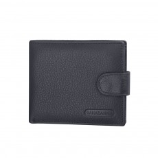 Beautiful Buckle Money Clip with Multiple Cards & Smooth Zipper & Large Capacity Design for Men