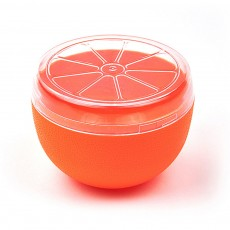 Mini Vegetable Sealed Box, Non-toxic Portable Plastic Crisper Set, Transparent Grape & Garlic Crisper Bowl