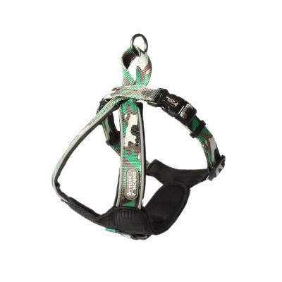 Pet Triangle Chest Strap for Medium-sized Large Dog, Dog Safety Vest Harness with Double Buckles and Zinc Alloy Ring