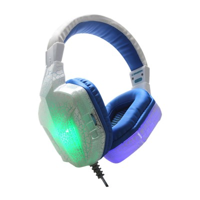 Headset with Microphone for Gaming Headset Luminous Headset Mega Bass Headphone Crack Luminous Headphone