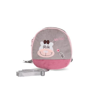 Mini Baby Cartoon Bag for Preventing Lost, Children's Backpack with Anti-loss Traction Cord
