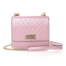 2019 Fashion Female PU Handbag Packets Shoulder Bag Crossbody Chain Small Square Tote Bag for Women Youth Lady Girl