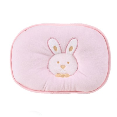 Baby Head Shaping Pillow 100% Cotton Newborn Pillow Flat Head Support Head Syndrome Prevention Pillow
