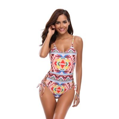 Backless Sexy Swimsuit One-piece Cutout Sexy Bikini Skin-friendly and Comfortable Swimwear