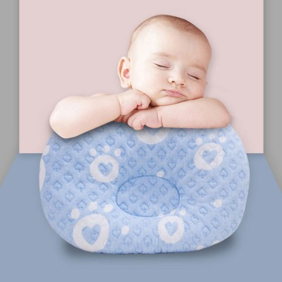 Newborn Baby Head Shaping Pillow Breathable Organic PP Cotton Baby