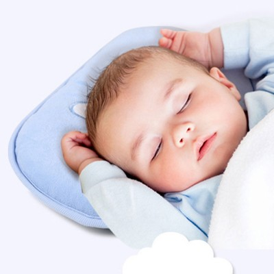Toddler Unisex Infant Pillow Baby Head Shaping Prevent Flat Head Syndrome Breathable Washable Organic Cotton Cover Newborn Gift for 0-3 Years Old Golden Lank Baby Pillow for Sleeping