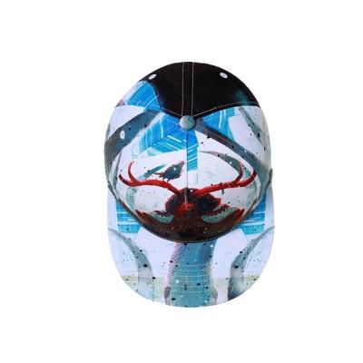Unisex Hats Creative Graffiti Snapback Flat Bill Hip Hop Hats Casual Baseball Caps for Dancing Women Men Best Gifts