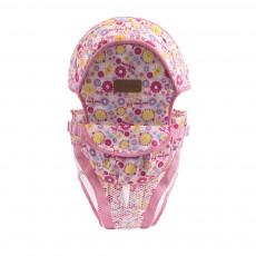 Baby Carrier Adjustable Backpack Sling Sponge Material Breathable Mesh Widen Shoulder Belt Strap with Storage Bag Keep Warmer