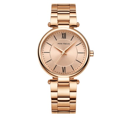 2019 New Elegant Fashion Female Quartz Watch, Women Wear-resisting Lens Three-needle Dail Wristwatch