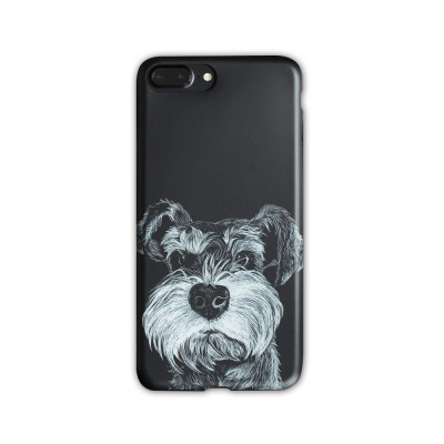Cute Dog Printing Shockproof Phone Back Cover For iPhone 6, 6s, 6s Plus, 7, 8 Plus