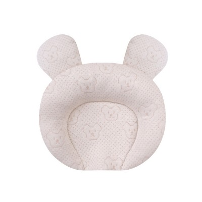 Infant Pillow Natural Latex Baby Pillow for 6 Months Newborn Prevent Flat Head Anti Roll Neck Support Breathable Pillow