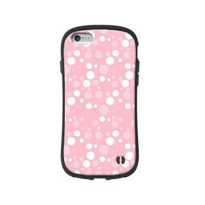 Cute Slim Lightweight iPhone Case with Polka Dot Pattern Shatter-proof Silicone Soft Shell Case for Apple iPhone 6 6S 7 8 6 plus 6s plus 7 plus 8 plus X