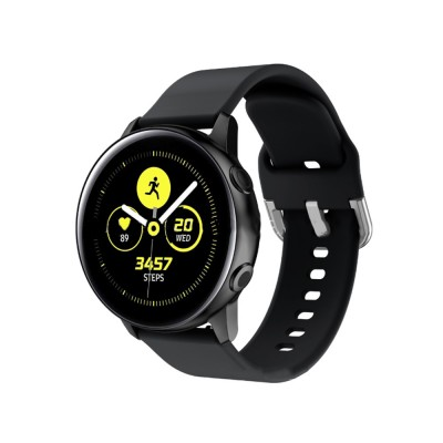 Sport Silicone Replacement Watch Band Compatible with Samsung Galaxy Watch Active Bands 20mm Silicone Wristband 8 Colors